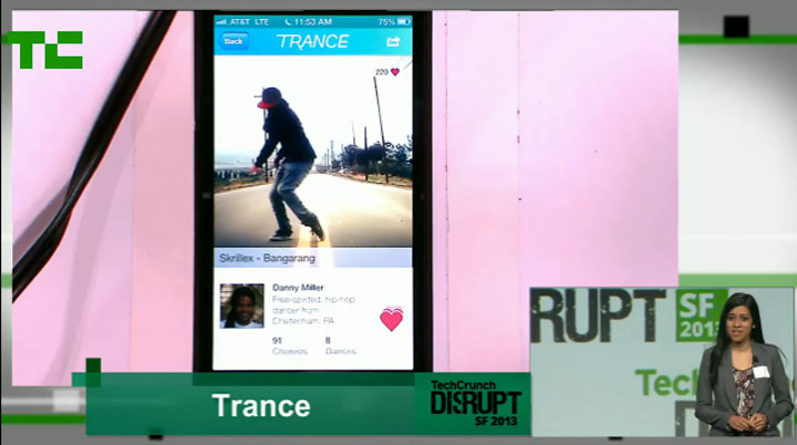 Trance – The new dance app
